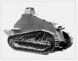 Prototype van de Renault FT BS75