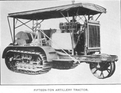 Baby Holt tractor.